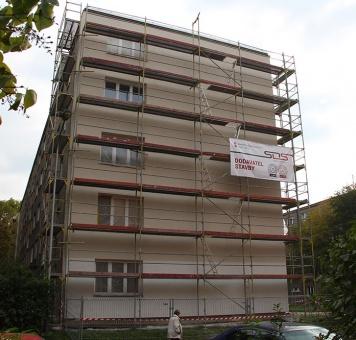 Zateplení panelového domu